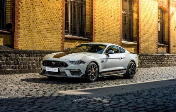 Mustang - z zewnątrz