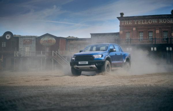 Ford Ranger - przód