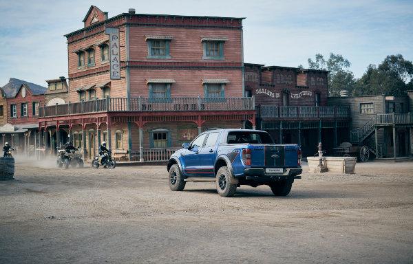 Ford Ranger - tył