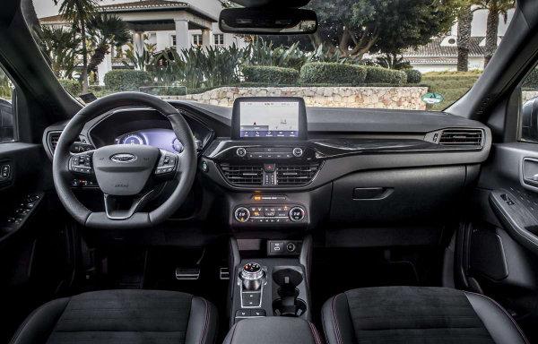Ford Kuga - kierownica