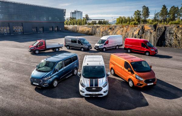 Ford samochody dostawcze