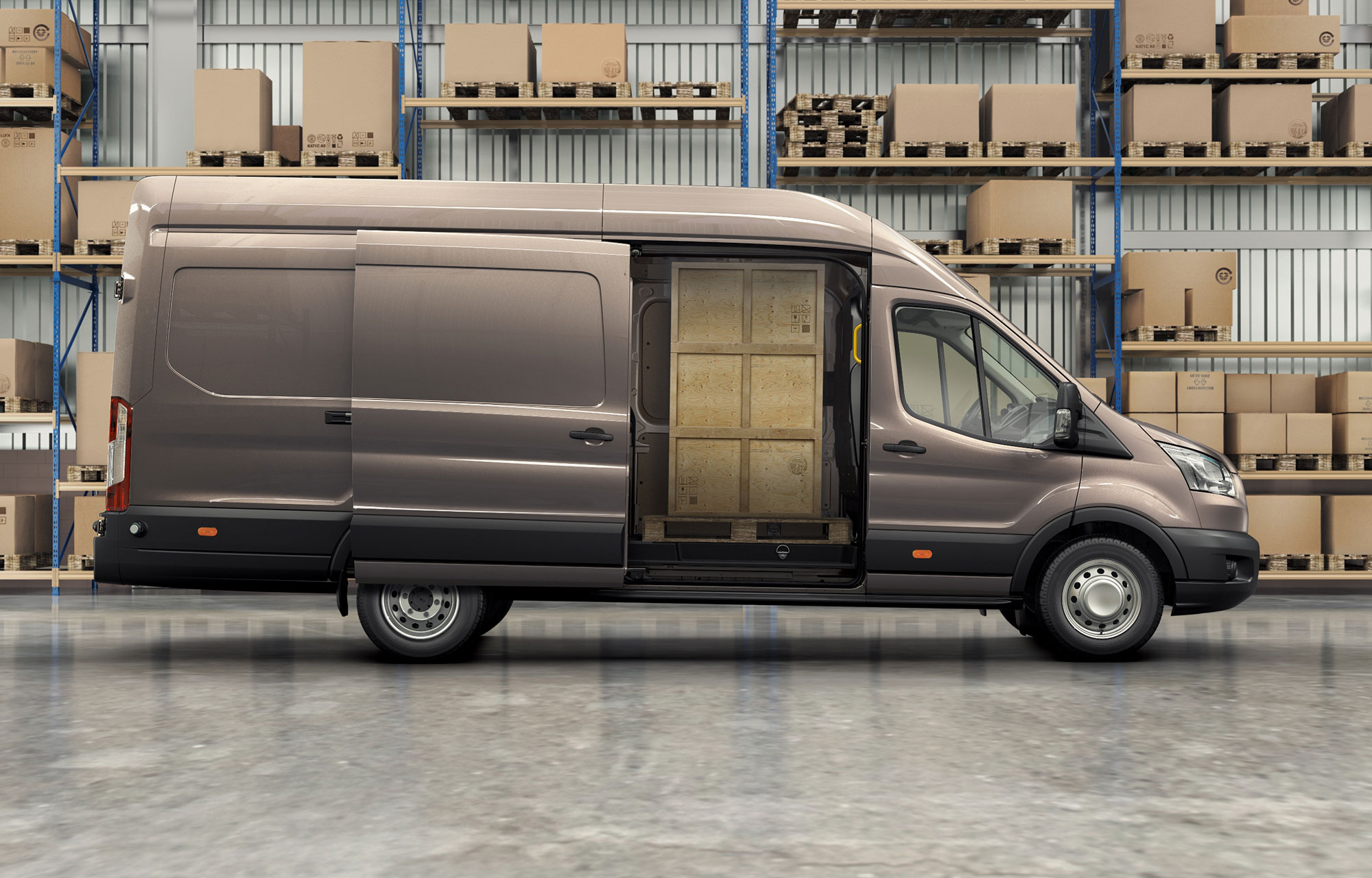 Nya Ford Transit Connect