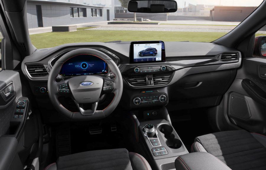 Ford Kuga Plug-in hybrid inredning 1