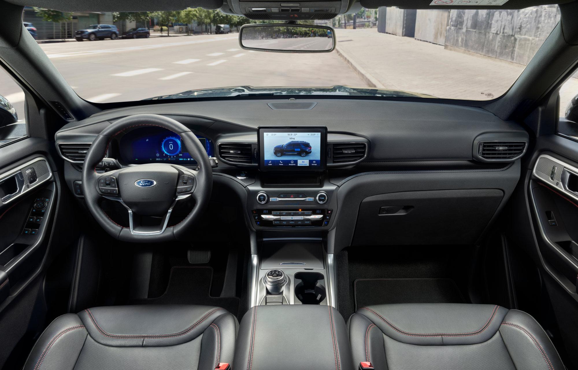 Ford Explorer Plug-In-Hybrid