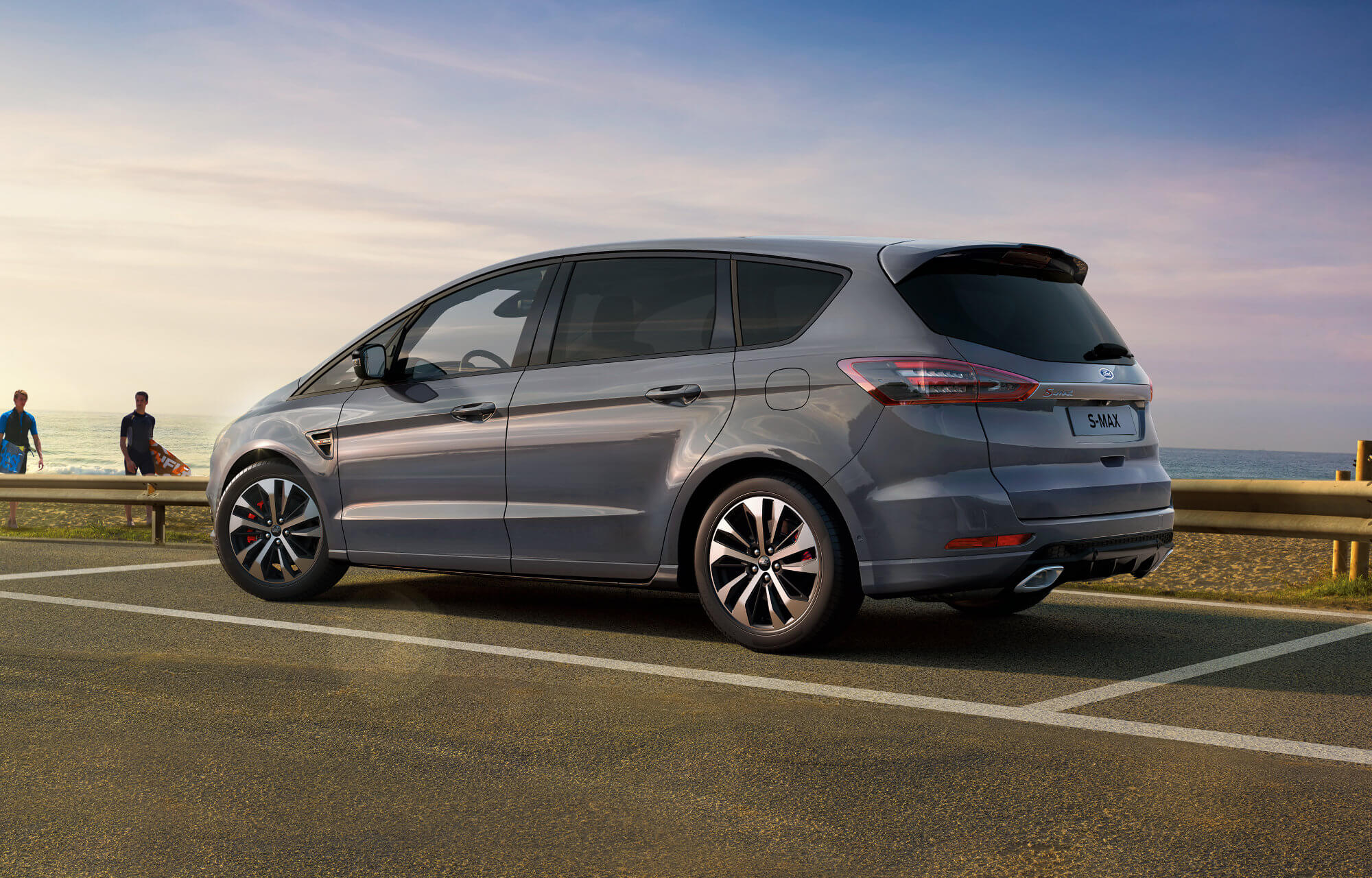 Ford S-MAX ST-Line Stealth Edition