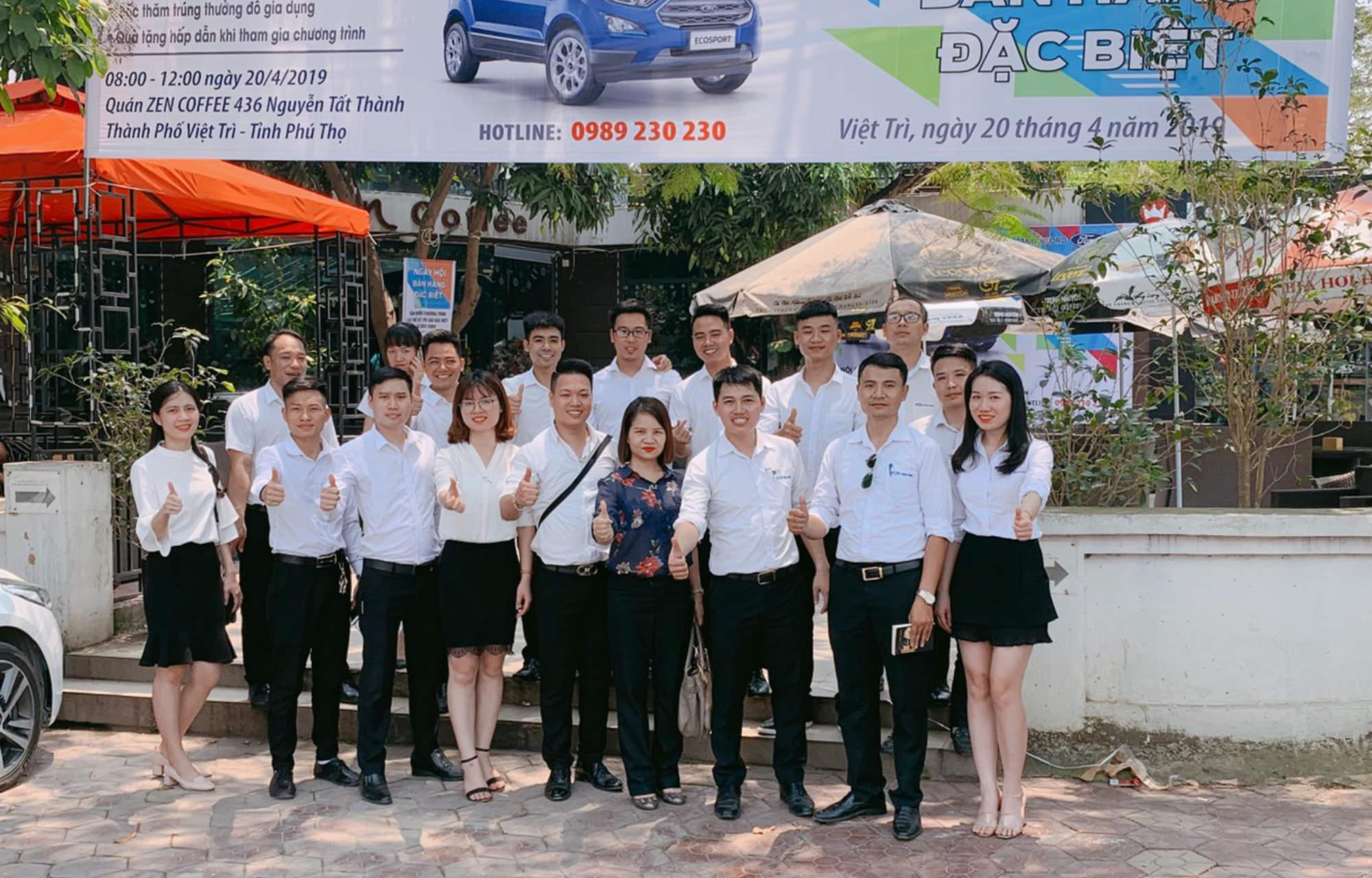 Ngay hoi Ban hang tai Phu Tho cua An Do Ford