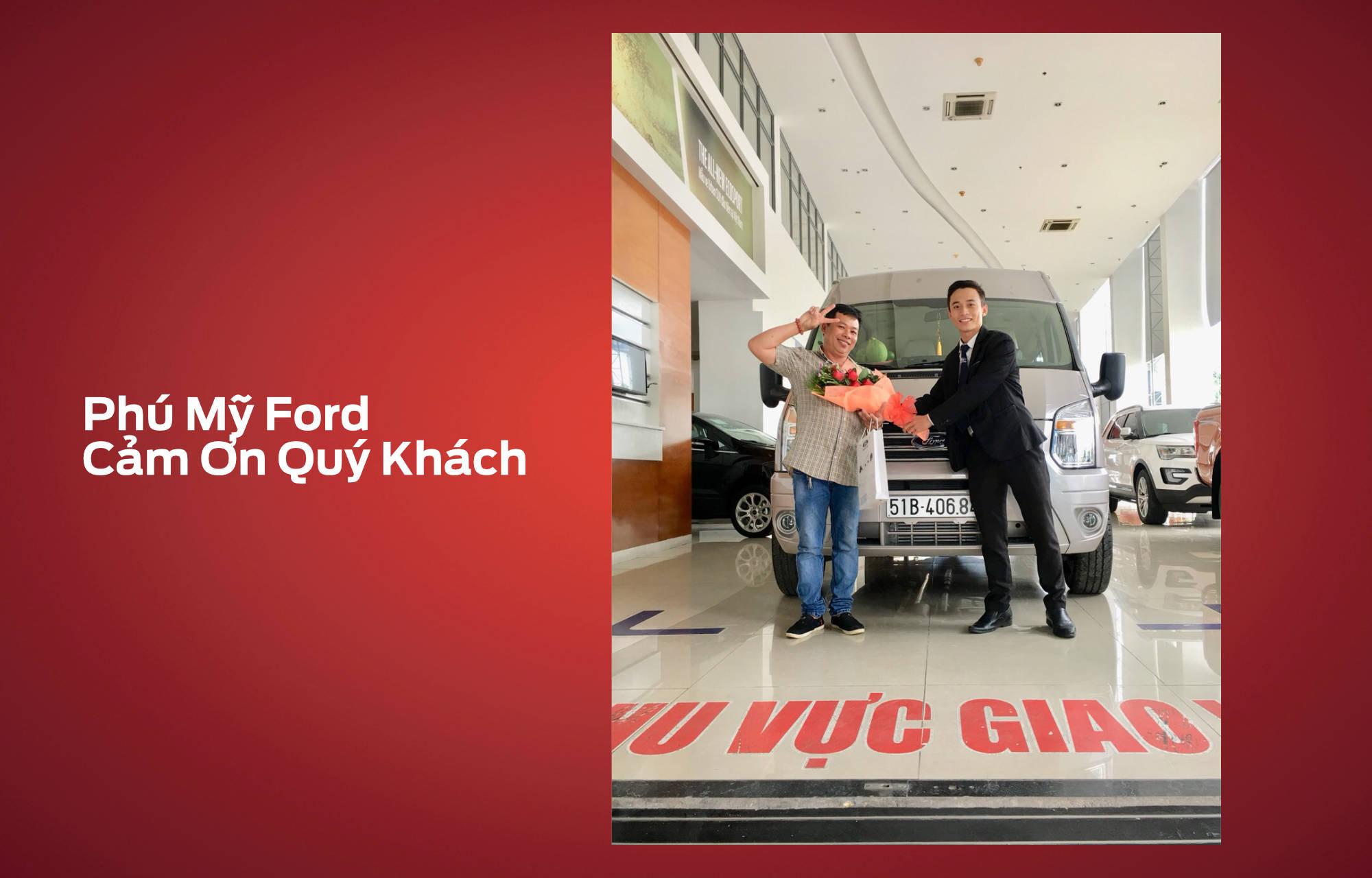 Khach hang mua xe thang 11 Phu My Ford
