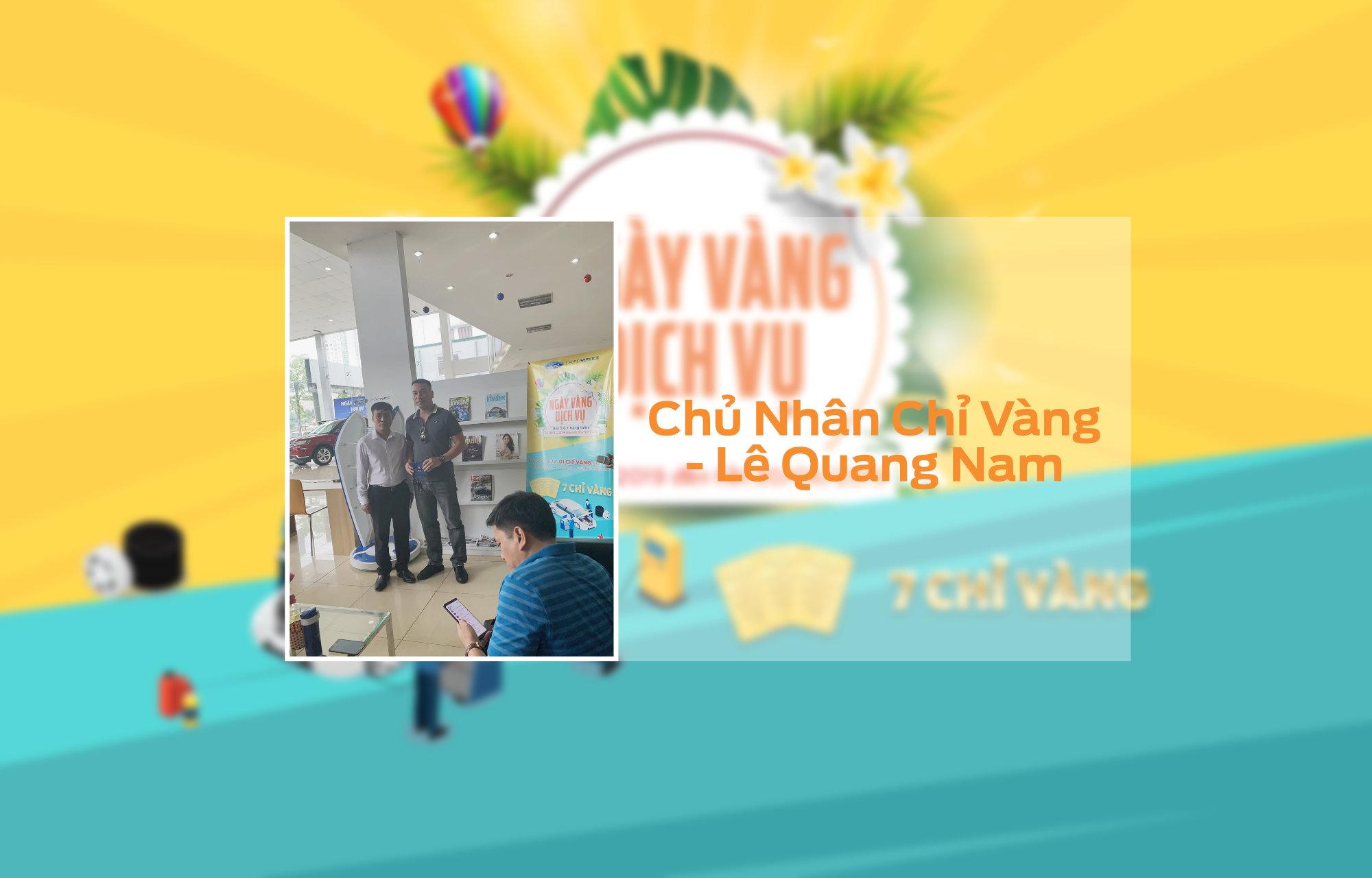 Khach hang Le Quang Nam