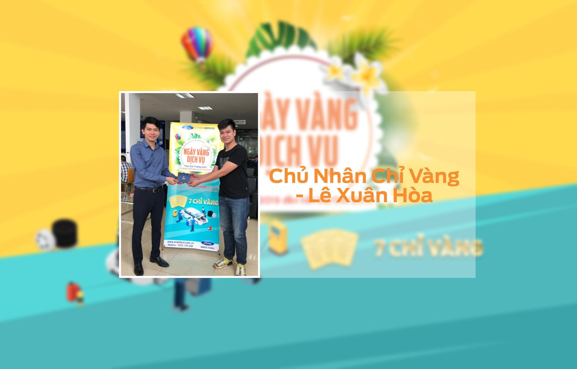 Khach hang Le Xuan Hoa