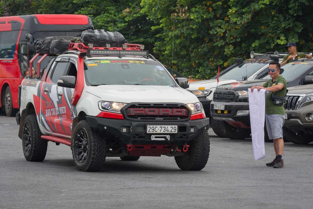 xe ford ranger raptor, người chơi